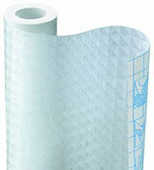 Magic Cover Self-Adhesive Shelf Liner, 18-Inch by 24-Feet, Frosted (24' Frosted Glass Shelf)