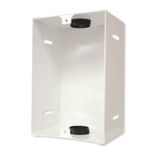 Rough in Box for Flush Mounting on all DP Plate Models (Stud Series Metal Wall Plate)