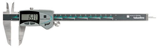 Brown & Sharpe 00599392 Valueline IP67 Electronic Caliper, 0 to 8