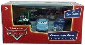 Sheriff Supercharged (Disney Pixar Cars Courtroom Crew 3 Car Set: Sally, Doc Hudon, Sheriff by Mattel)