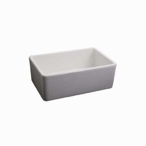 Fairmont Designs S-F2416WH 24-inch Fireclay Apron Sink For Cottage Collection Farmhouse Vanity, White