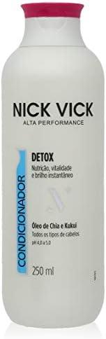 Condicionador Detox Nick Vick Alta Performance 250ml, Nick &