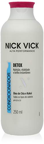 Condicionador Detox Nick Vick Alta Performance 250ml, Nick & Vick