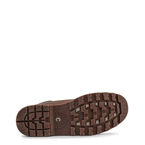 Hombre Jeans Chukka Botas chocolate Carrera Para Marrón 01 IqwdZ