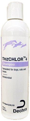 Dechra TrizChlor 4 Shampoo, 8-Ounce by Dechra