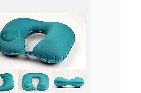 Cojín Cervical Hinchable de Viaje para Aviones de U-Pillow ...
