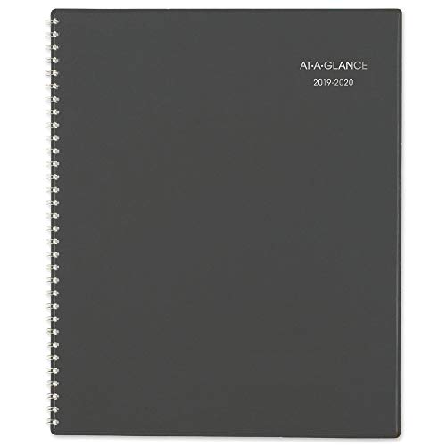 (AT-A-GLANCE 2019-2020 Academic Year Monthly Planner, Large, 8-1/2