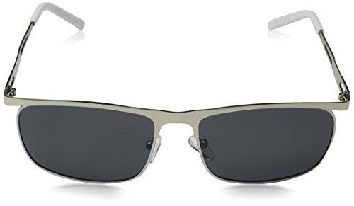 Gafas Plateado Eyelevel White Silver 60 de Grey Lucas Polarized Hombre Sol para 5qqT6Cf