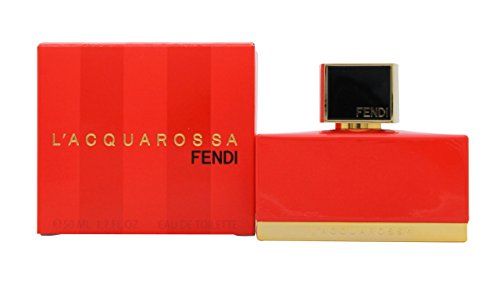 Fendi L'acquarossa for Women Eau De Toilette Spray, 1.7 Ounce