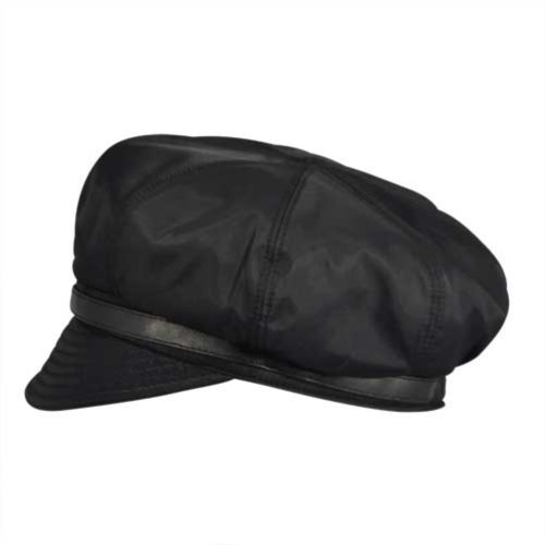 Betmar Women's Fern Rain Cap, Black, One Size