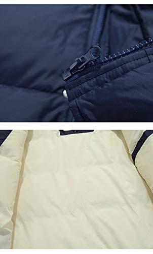 Parka Baseball Hiver Hommes Jackets Éclair Militaire Blouson Doudoune Rouge Extérieur Casuel Ssrsh Veste pXxqq8