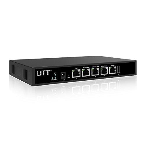 utt er840g 4 port internet wan router 4 gigabit wan ports load