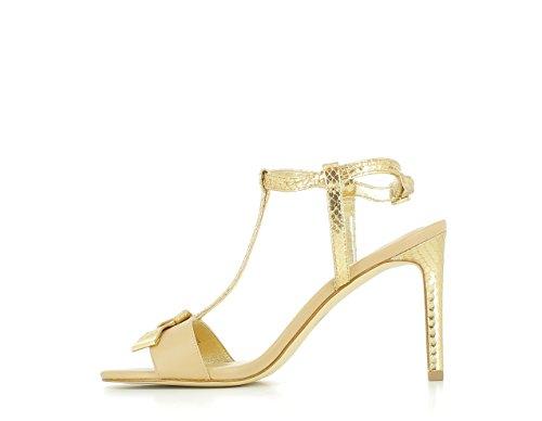 41 MK Leather Metallic Rosie Sandal T Sandalias qYp4d8wY