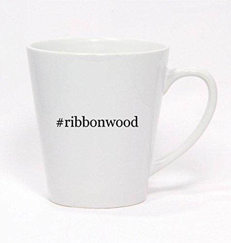 Price comparison product image #ribbonwood - Hashtag Ceramic Latte Mug 12oz