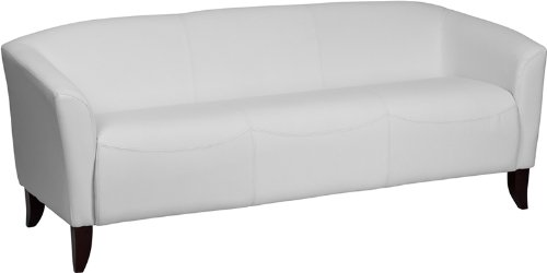 flash-furniture-111-3-wh-gg-hercules-imperial-series-leather-sofa-white-cherry