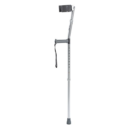 Drive Medical Aluminum Forearm Crutches, Youth, 1 Pair