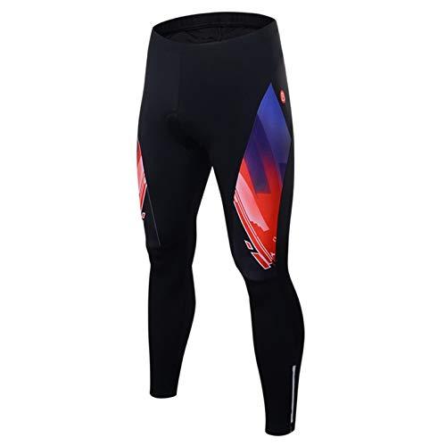 Epinki Hombre Primavera Verano Otoño Ciclismo Pantalones Negro Rojo-1 para Al Aire Libre y Multi Deportes Sudor Pantalones...