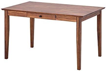 ISSEIKI ダイニングテーブル 幅120cm (ミディアムブラウン) LITHIO DINING TABLE 120 (AC-MBR)