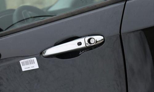 Chrome ABS Exterior Car Door Handle Trim Cover 8pcs For Jeep Compass 2017 2018
