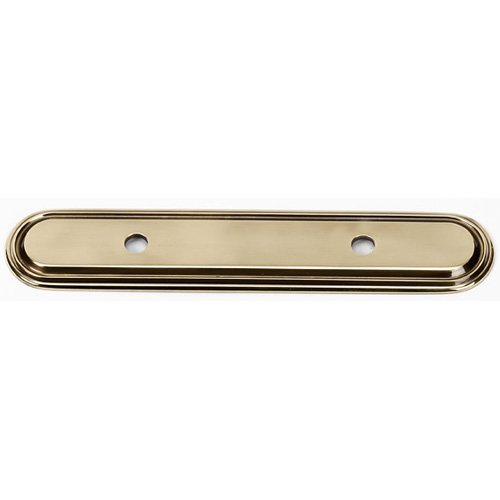 Alno A1508-35-SN Decorative Pull Cabinet Backplate