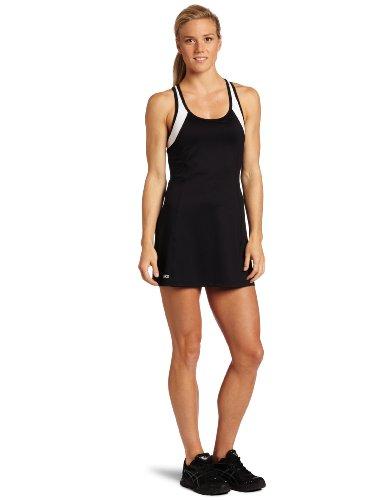 Asics Women's Love Dress, Black/White, X-Small