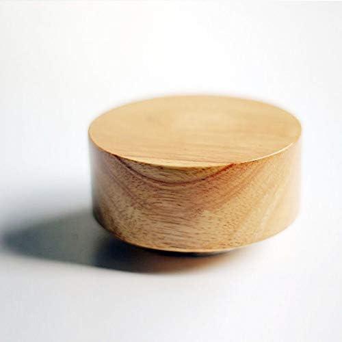 Asffdhley Caja Musical de Madera Caja de música Mecanismo Tallado ...
