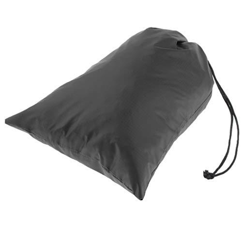 perfk Nylon Waterproof Drawstring Storage Bag Stuff Sack Organizer Pouch for Travel, Camping, Hiking, Backpacking
