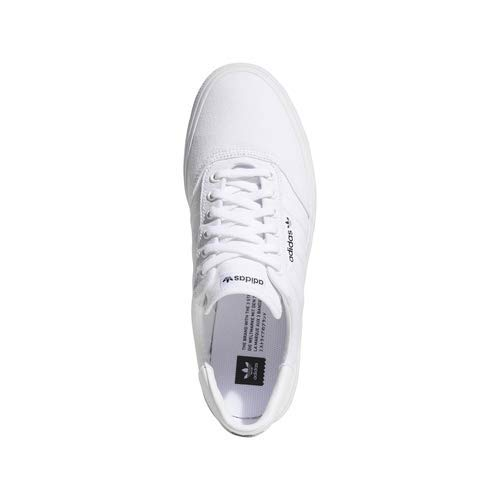 adidas Originals Unisex-adult 3 MC Skate Shoe White/Gold Metallic, 5.5 M US by adidas Originals (Image #6)