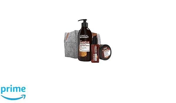 L Oréal Men Expert Barber Club - Estuche 3 productos - - Juego de 4: Amazon.es: Belleza