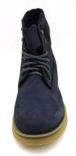 Harrykson Lederboots Schnürboots Boots Herrenschuhe Lederschuhe Leder Schuhe 95 Dunkelblau - laci