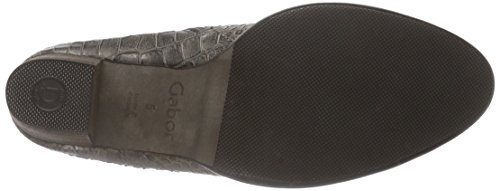 grau fango 85 Donna Comfort Polacchine Gabor micro Fashion Grigio Shoes OfHqwH