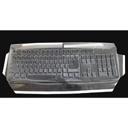 Viziflex\'s Biosafe Anti Microbial Keyboard cover fitting Microsoft Wireless 800 1455 WUG1008 624G108