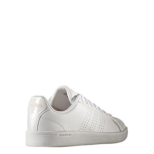 W Adidas corneb Advantage Donna ftwbla Bianco 38 Cloudfoam ftwbla Scarpe Clean Da Eu Ginnastica qFartxFwp