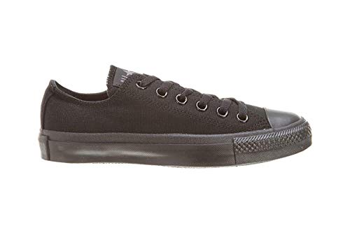 36 5 Sneaker Eu D black Taylor Star 37 Uomini All B Nero Top Converse Donne m Low Unisex Monochrome Chuck a0qppT