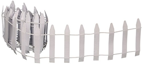 Picket Fence Roll - RSR E-V Roll Fence, 48-Inch, White