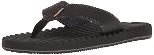 Freewaters Men's Basecamp Therm-a-Rest Flip Flop Sandal, Black, 11 M US by Freewaters