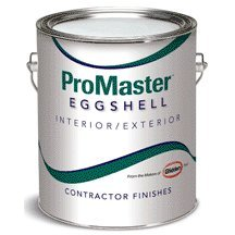 Glidden Mpn6502-01 Promaster Contractor Interior/exterior Latex Eggshell Paint Antique White Shell White Contractor