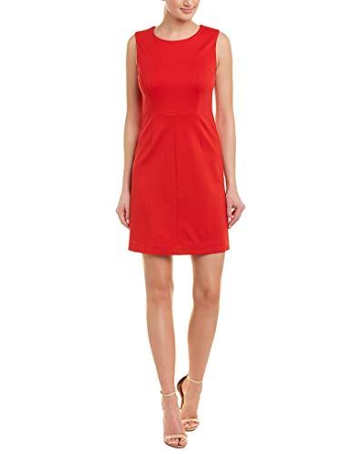 (Diane von Furstenberg Womens Carrie A-Line Dress, 0, Red)