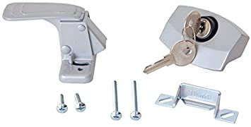 RV Designer E311 C&er Trailer RV Door Latch with Lock Entry Door Hardware  sc 1 st  Amazon.com & Amazon.com: RV Designer E311 Camper Trailer RV Door Latch with Lock ...