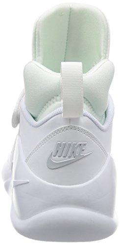 Nike 844839-100, Zapatillas de Baloncesto para Hombre Blanco (White / White-Pure Platinum)