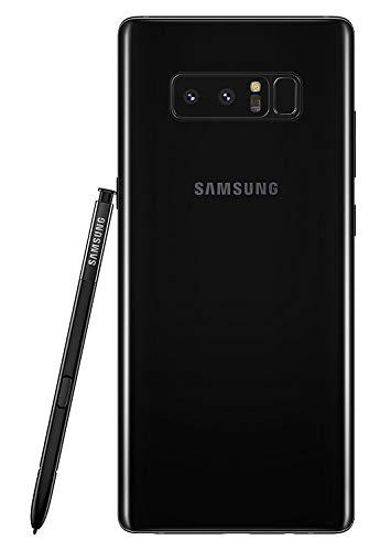 "Samsung Galaxy Note 8 64GB N950F 6.3"" Unlocked Phone Smartphone - International Version (Midnight Black)"