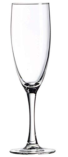 Luminarc N7582 Nuance 5.75 Ounce Champagne Flute, Set of 12, Clear (Renewed) ()