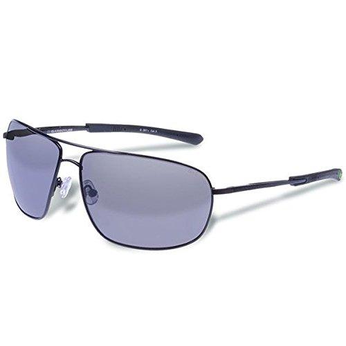 Gargoyles Shindand Aviator Sunglasses, Matte Dark Gun,Smoke & Silver, 64 - Aviator Group