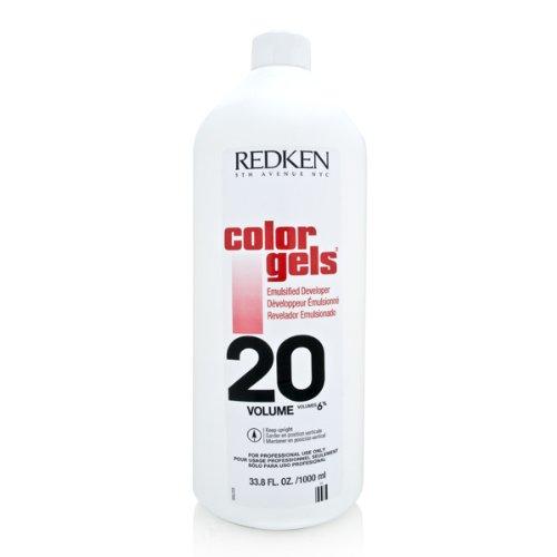 Redken Color Gels Emulsified Developer TreatMent for Unisex, 20 Volume, 33.79 Ounce