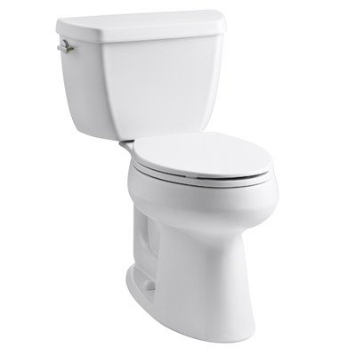 Toilet Solution Complete (Highline The Complete Solution Dual-Flush, Elongated Toilet)