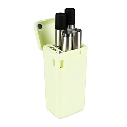 Collapsible Reusable Portable Stainless Straw - US Supplier (Mint Green)