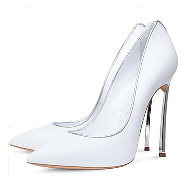 SANMULYH  Damenschuhe Sommer Herbst Komfort Neuheit Heels Schuhe Für Party & Abend Kleid Weiß