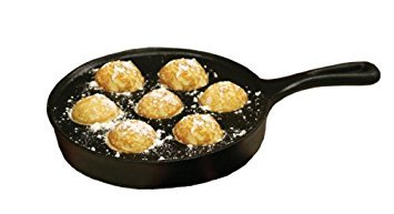 Camp Chef True Seasoned Aebleskiver Cast Iron Pan (6)