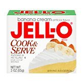 (Jell-O Pudding & Pie Filling Banana Cream Cook & Serve - 24 Pack)