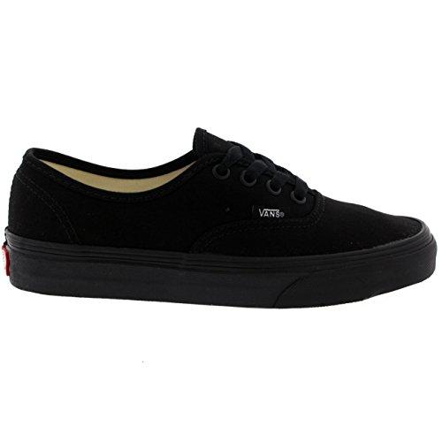 Vans Authentic Unisex Skate Trainers Shoes Black/Black 9 B(M) US Women/7.5 D(M) US Men by Vans (Image #5)